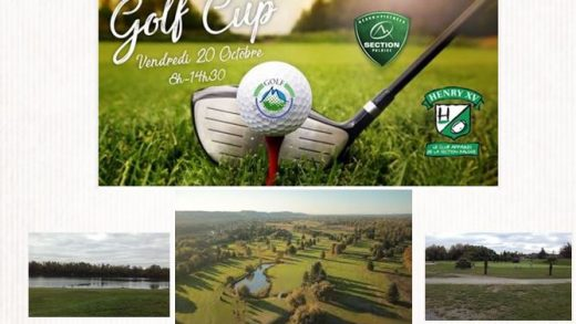 GAZETTE SPECIALE GOLF CUP HENRY XV SECTION PALOISE